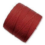DARK RED S-Lon Beading Cord Superlon Beading Thread