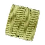 LEMONGRASS S-Lon Beading Cord Superlon Beading Thread