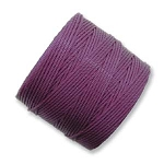 PLUM S-Lon Beading Cord Superlon Beading Thread