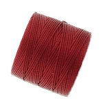 RED HOT Red S-Lon Beading Cord Superlon Beading Thread
