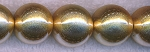 SOLDOUT Gold Acrylic Beads, 18mm Round