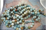 ZSOLDOUT / Amazonite Beads, 12mm Round