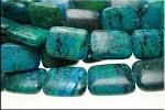 20x15mm Rectangle Chrysocolla Beads
