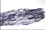 14x10x8mm Crystal Nugget Beads PURPLE