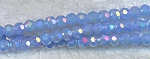 4mm Round Crystal Beads Blue Jade AB