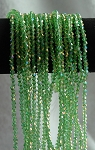 4mm Bicone Crystal Beads PERIDOT AB