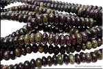 ZSOLDOUT / Dragon Eye Jasper Beads, 10mm Rondelle Imperial Dragon