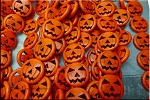 ZSOLDOUT - Pumpkin Beads, Orange 20mm