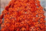 ZSOLDOUT - Pumpkin Beads, Orange 15mm