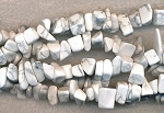 Howlite Beads, Chips