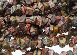 Leopardskin Jasper Beads, Chips