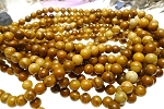 ZSOLDOUT - Jasper Beads, Honey Jasper Round 8mm Natural Yellow