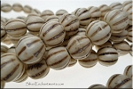 ZSOLDOUT - Magnesite Beads, White Melon 12mm