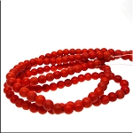 ZSOLDOUT - Magnesite Beads, Orange Round 6mm