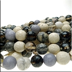 ZSOLDOUT - Gemstone Beads, Mixed Round 10mm Quartz Rhodonite Magnesite Jasper