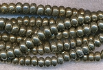 Pyrite Beads, Rondelle 8mm Fool's Gold