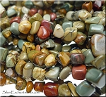 ZSOLDOUT / Red Creek Jasper Beads, Pebbles Nuggets