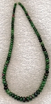 Ruby Zoisite Graduated Rondelle Necklace Beads