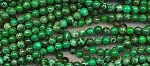 6mm Round Green Sea Sediment Jasper Beads