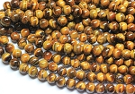 10mm Round Tiger Eye Beads