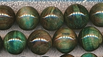 ZSOLDOUT - Tiger Eye Beads, Green Round 16mm