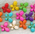 20mm Butterfly Beads Multicolor