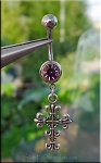 Cross Belly Ring - EXAMPLE
