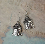 Buddha Earrings, Buddhist Jewelry