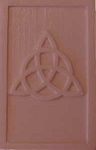 ZSOLDOUT / Triquetra Chocolate Mold, Celtic Candy Mold