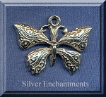 Sterling Silver Celtic Butterfly Pendant