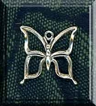 Butterfly Charm, Sterling Silver