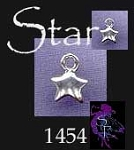 Sterling Silver Star Charm, Small