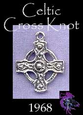 Sterling Silver Celtic Cross Charm Pendant, Solar Cross Jewelry