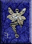 Sterling Silver Fairy Jewelry Link Finding, Left