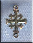 Sterling Silver Jerusalem Cross Connector Jewelry Findings (1)