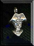 Sterling Silver Bailed Pirate Pendant