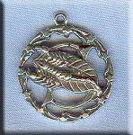 ZDISCONTINUED - Sterling Silver Scorpio Medallion Pendant