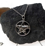 Sterling Silver Horse Pentacle
