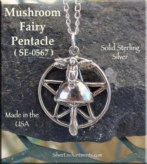Mushroom Charm Sterling Silver Charms Fairy Ring Toadstool