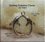 Sterling Silver Kissing Dolphins Jewelry