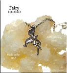 Sterling Silver Seated Fairy Charm
