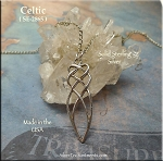 Sterling Silver Celtic Love Knot Pendant, Celtic Jewelry