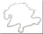Link Necklace Chain 18-inch 3mm Width