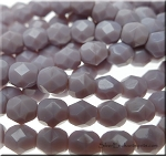 6mm Fire Polished LAVENDER Czech Glass Beads