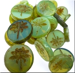 JADE Picasso Dragonfly BeadS