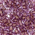 Size 8 Delica Beads, Amethyst Transparent Luster, DBL-0108