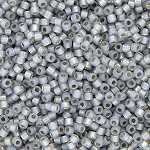 Opaque Alabaster Light Grey Opal Delicas, Size 11 Delica Seed Beads