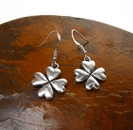 Shamrock Earrings, Clover Jewelry - Everyday Shamrock Jewelry