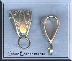 Sterling Silver Fancy Jewelry Bail Finding