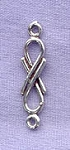 Sterling Silver Simple Jewelry Link Finding with Loops